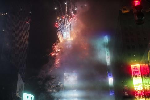 Foto van Zo vierde de wereld het nieuwe jaar