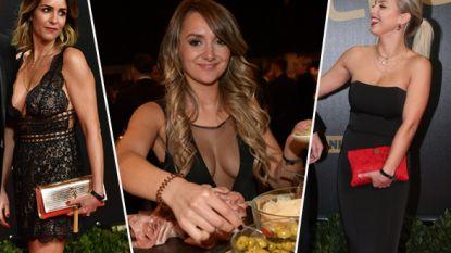 De Oscars van de WAG's: deze voetbalvrouwen maakten grootse sier op de rode loper van de Gouden Schoen