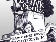 Nijmegen-West heeft genoeg van de asfaltfabriek, onderstrepen bewoners met deze poster