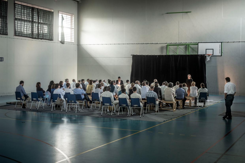 Een theatervoorstelling over radicalisering in de gevangenis van Ittre.