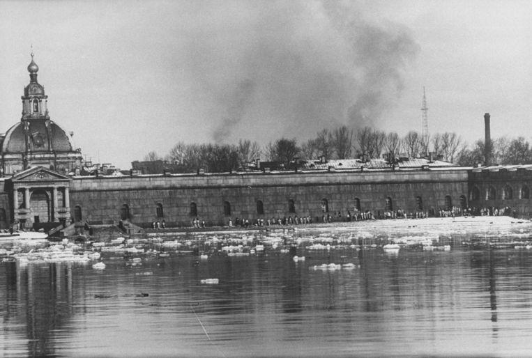 St.-Petersburg aan de Neva, 1959.  Beeld Getty