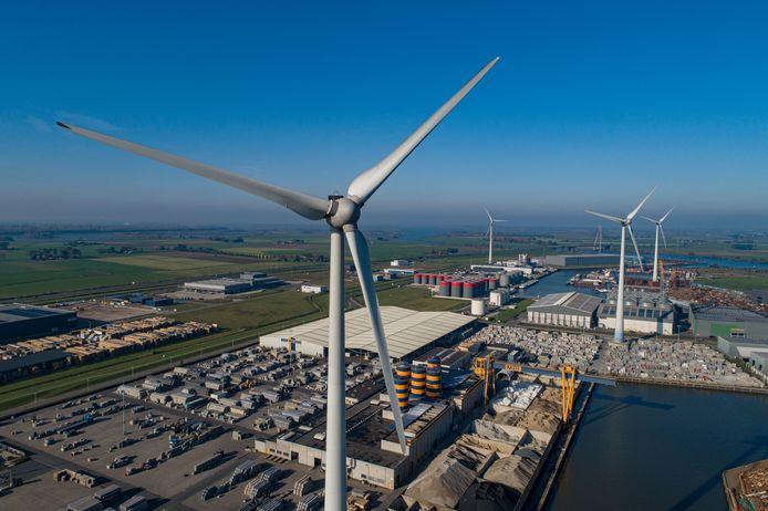 Foto ter illustratie. De gemeente Kampen verstrekt energiebedrijf Enexis een lening om het elektriciteitsnetwerk uit te kunnen breiden.