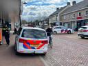Agenten aan het werk in Someren.