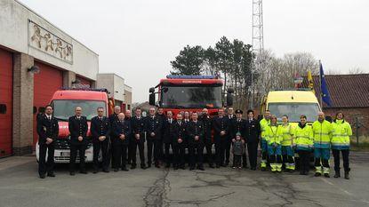 Nieuwe voertuigen voor brandweerpost Assenede