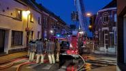 Brand in Molenstraat: huis onbewoonbaar, vader en twee zonen naar ziekenhuis