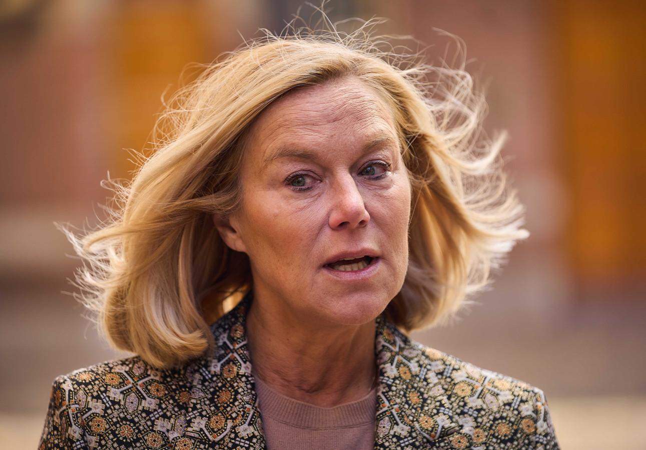 D66-leider Sigrid Kaag broedde met Rutte op het formatiedocument.