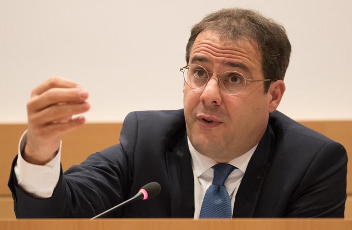 David Clarinval. ministre fédéral du Budget.