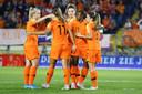 Oranje kan juichen na de 1-0 van Beerensteyn.