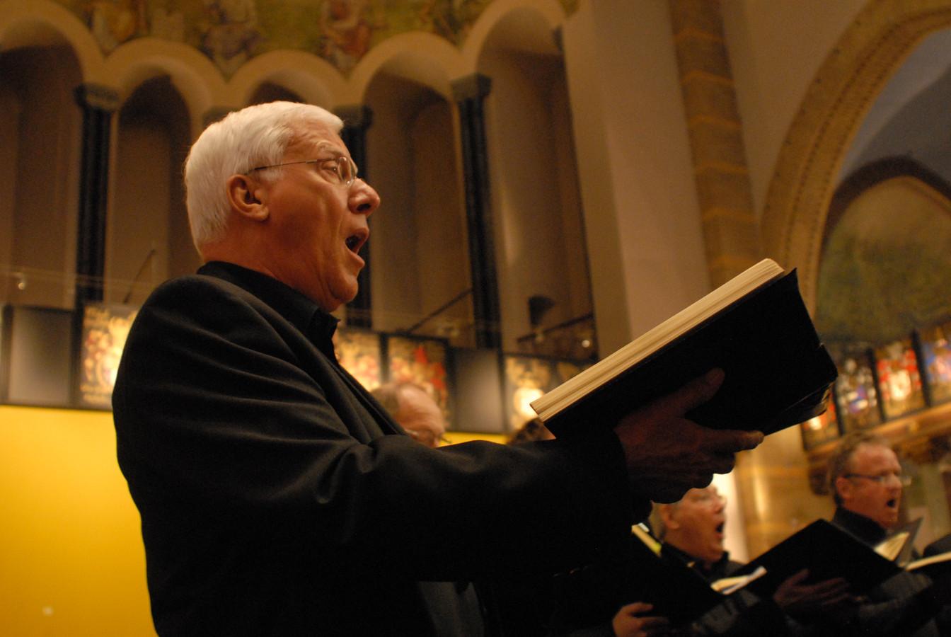 Tenor Bernard Loonen kleurde de rol van de Evangelist in