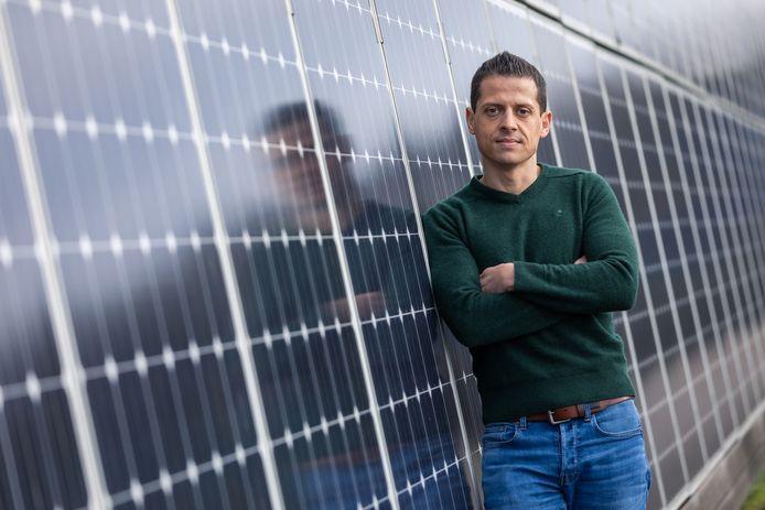 Ondernemer Ismaël Ben-Al-Lal vult voortaan de Raad van Bestuur van Voka aan als straffe ondernemer en baas van energiebedrijven Futech in Tessenderlo en iLumen.