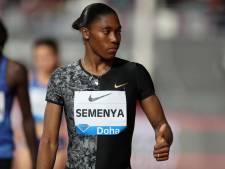 Semenya geeft strijd tegen testosteronregel niet op: 'Uitspraak CAS houdt mij niet tegen'