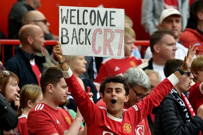 Cristiano Ronaldo kreeg een warm welkom.