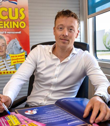Hapertse circusdirecteur heeft zijn zomertournee rond; Harlekino is klaar voor het hooggeëerd publiek