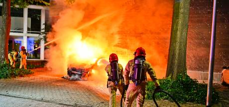 Auto uitgebrand in Valkenswaard