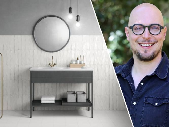 Je badkamer renoveren? Laat je inspireren door het advies van interieurarchitect Bart Appeltans