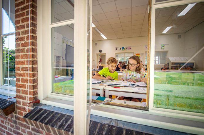 De Sint Jozefschool in Niftrik heeft volgens de prognoses in 2023 nog maar 24 leerlingen.