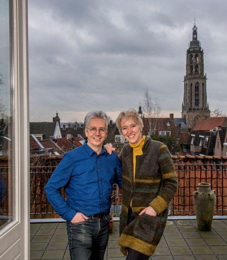 Jeanette en Eric genieten van uitzicht op de Cuneratoren: 'Toen de steigers verdwenen, werd ons cadeau uitgepakt'