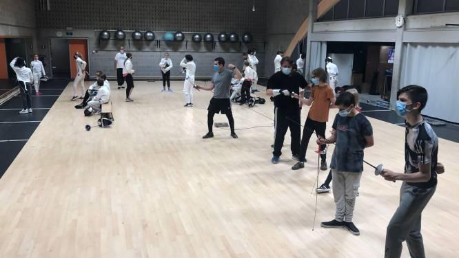 Schermclub Excalibur laat leden seizoen gratis sporten