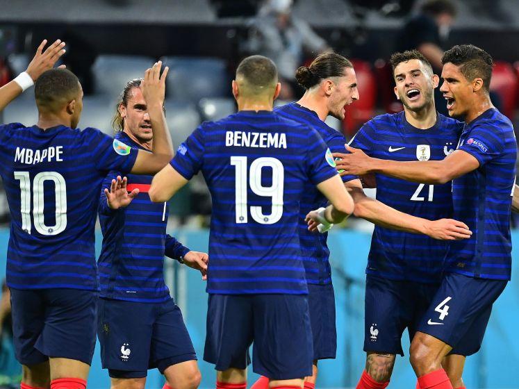 Wedstrijd bol van de incidenten: wereldkampioen Frankrijk trekt na felbevochten duel aan langste eind tegen Duitsland