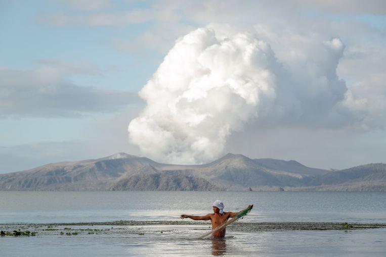 De rokende vulkaan. Beeld EPA