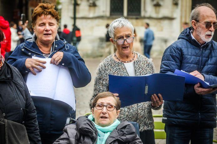 World choir games op de Burg in Brugge