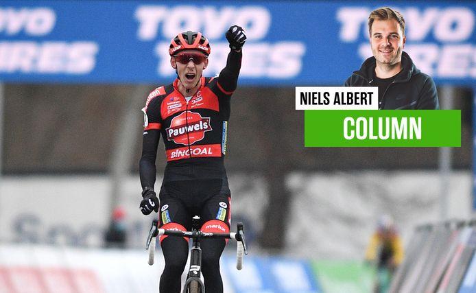"""Niels Albert over Michael Vanthourenhout: """"Wat een metamorfose"""""""