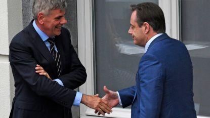 """Dewinter: """"Onze prioriteiten staan in teksten De Wever. Ik kan ermee leven"""""""