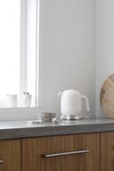 Ontwerp Ketelbinkie uit 2012. Deze waterkoker wordt nog steeds verkocht.