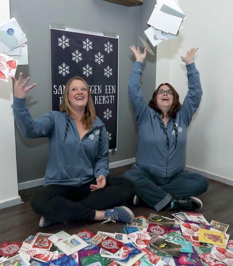 Al dik 900 kerstkaarten voor eenzame Roosendalers: 'Veel harder nodig dan we dachten'
