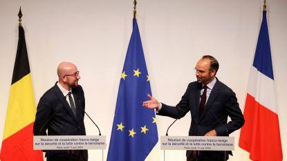 """België en Frankrijk willen samenwerking in strijd tegen terrorisme opvoeren: """"De dreiging is hoog en komt van binnenuit"""""""