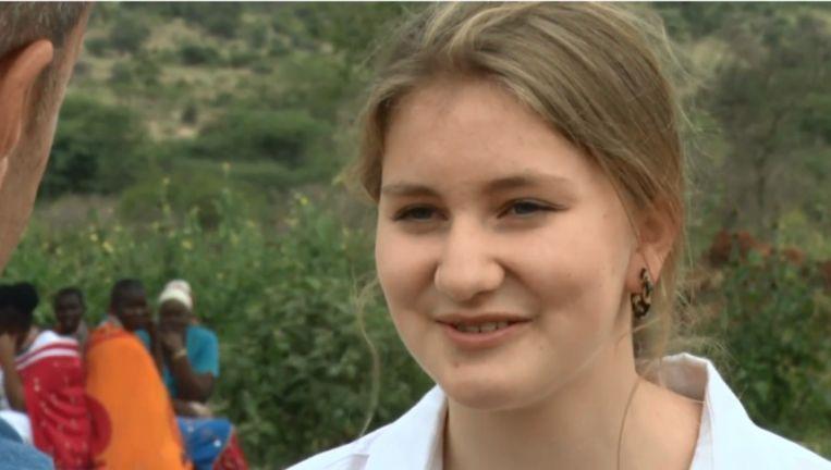 Prinses Elisabeth geeft haar eerste tv-interview.