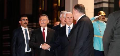 Turkije schort opmars Syrië 5 dagen op na deal met VS