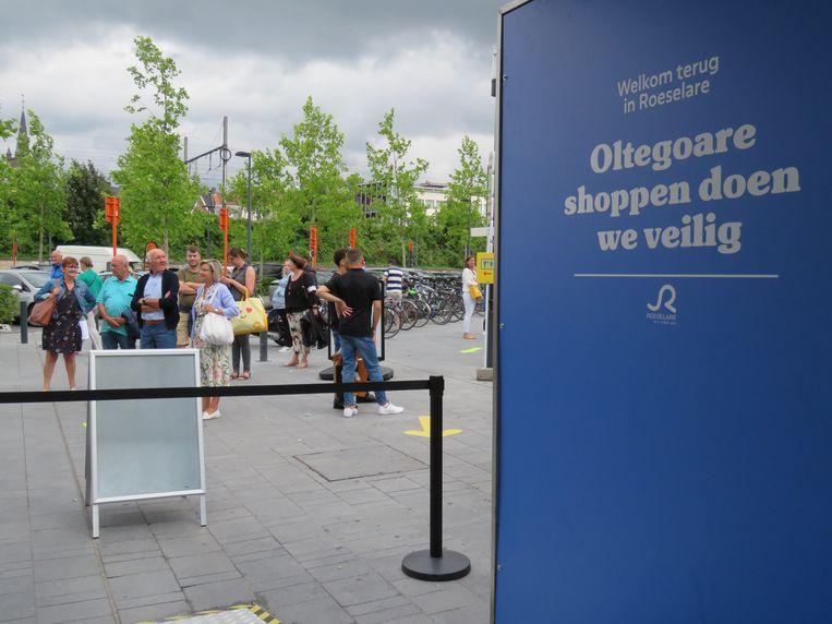 Zaterdagmiddag ging de Ooststraat even op slot.