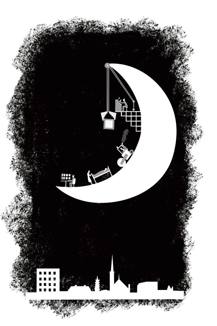 Voor een serie over nachtwerkers zoekt De Gelderlander kandidaten bij wie schrijver Jonah Falke een nacht mag aanhaken.