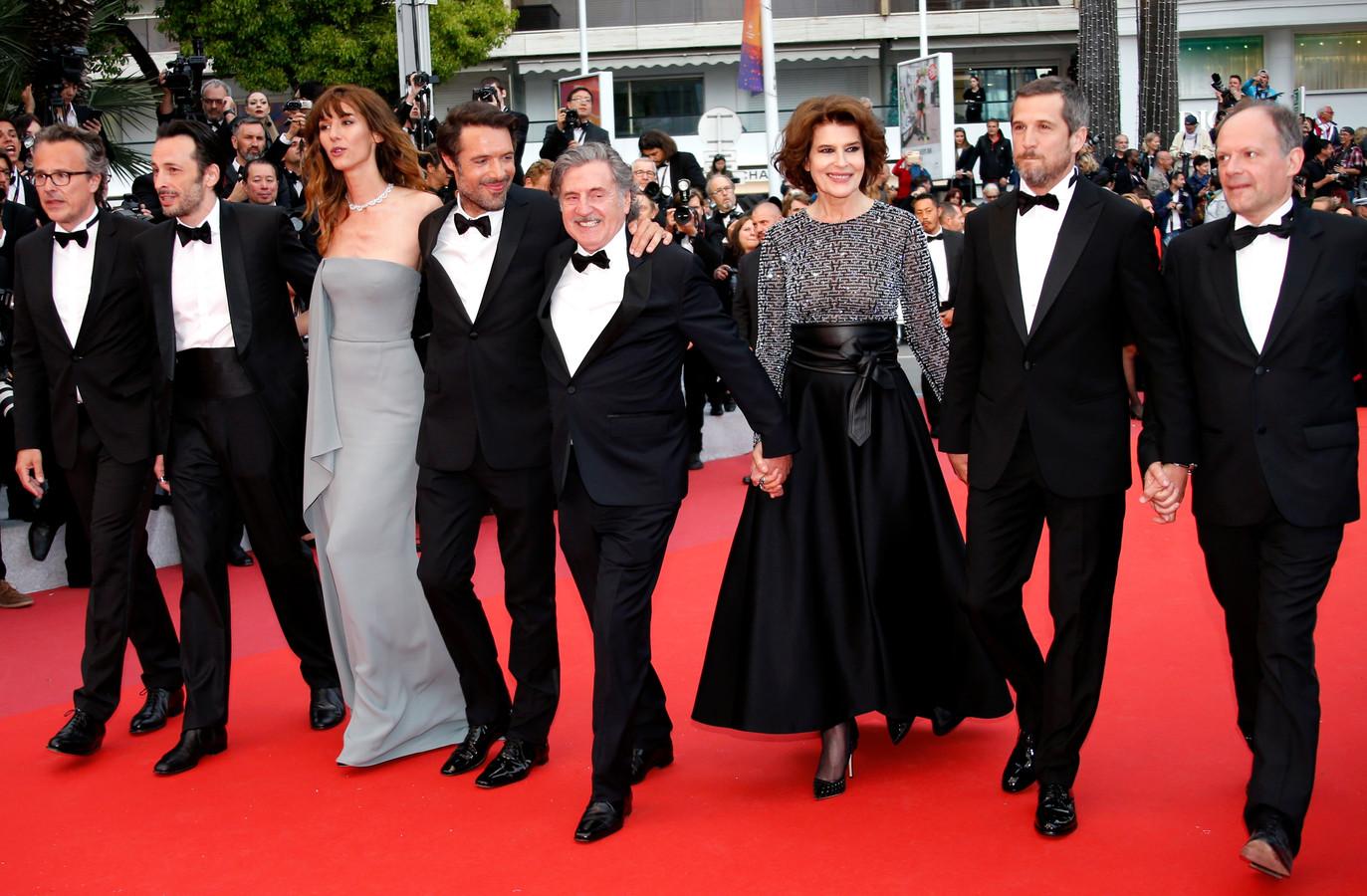 Nicolas Bedos, Doria Tillier, Daniel Auteuil, Fanny Ardant, Guillaume Canet