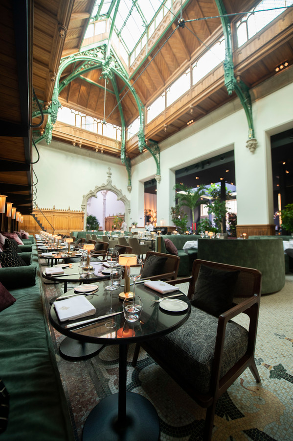 Restaurant Fiera in de Handelsbeurs.