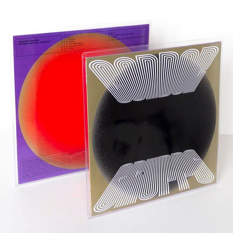 'Interplanetary Travels', het nieuwe album van Condor Gruppe. Beeld rv