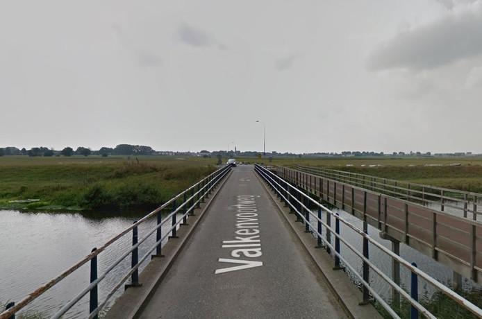 Een van de bruggen.