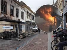 Onderzoek naar oorzaak brand in de Oudestraat in Kampen bijna klaar: aangehouden bewoner weer vrij maar nog wel verdachte