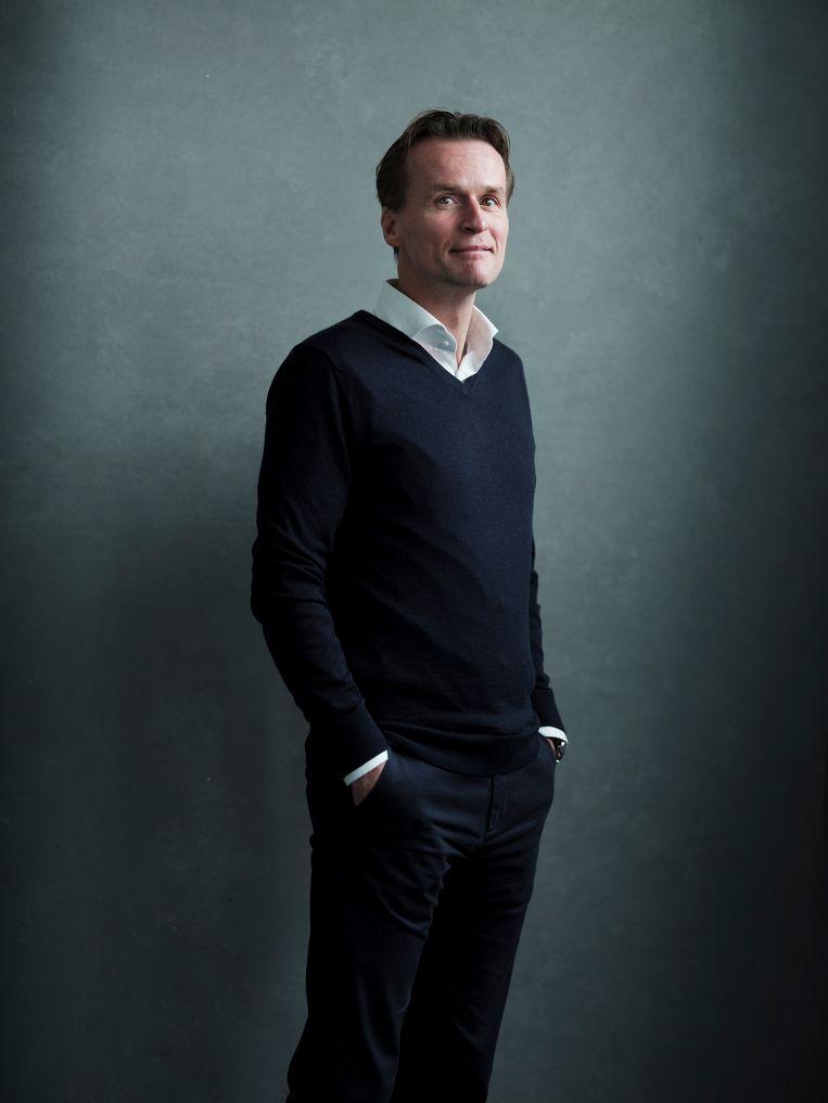 Erik-Jan Mares: 'Ik denk dat ik door de scheiding misschien wel een betere versie van mezelf ben geworden.' Beeld Frank Ruiter