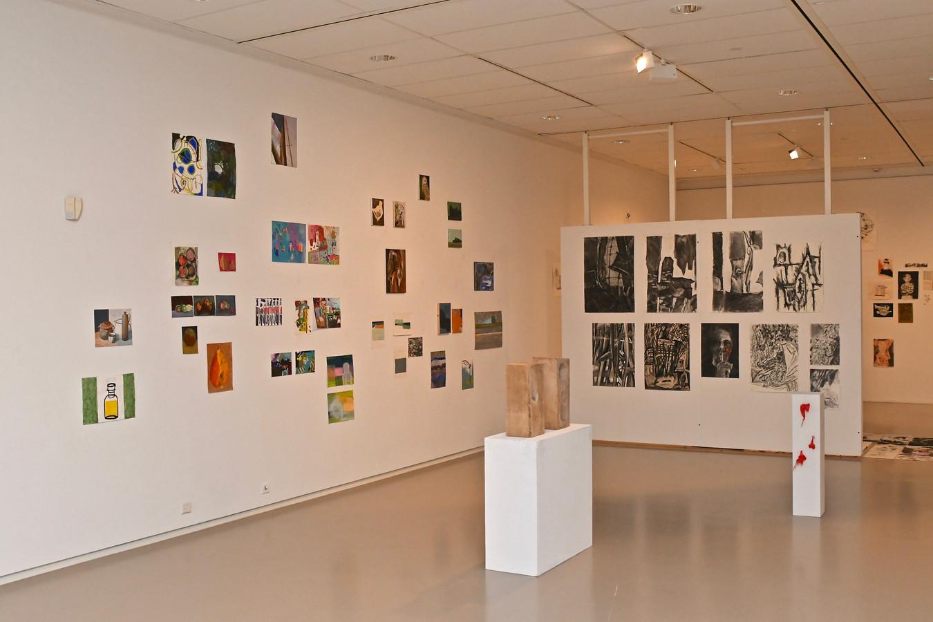 Expo Academie Muziek, beeld en woord.