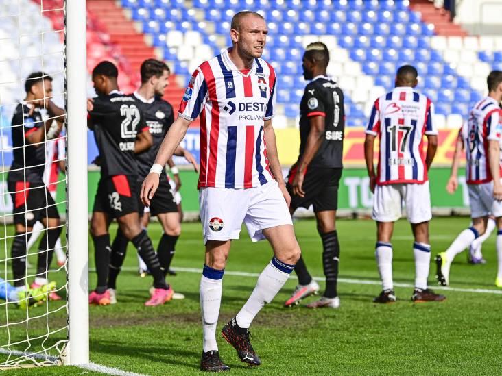 LIVE | Wedstrijd lijkt beslist: Willem II-back Köhn werkt kopbal van PSV-captain Dumfries in eigen doel
