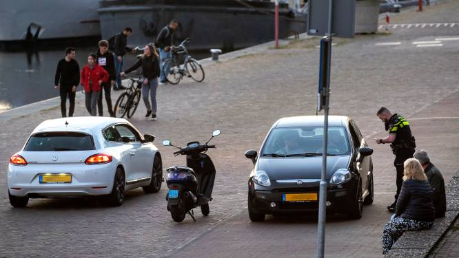 Eerste boetes uitgedeeld op 'Racebaan Rijnkade' voor overtreden tijdelijk parkeerverbod