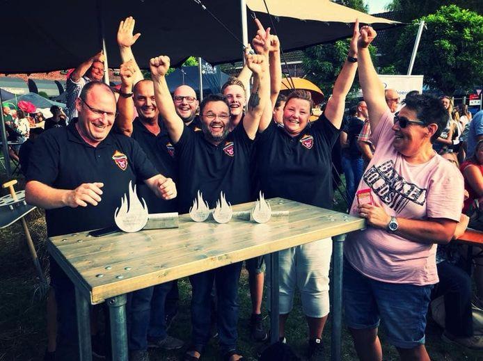 De Riverland Smokers uit Dodewaard: kampioenen in culinair barbecueën.