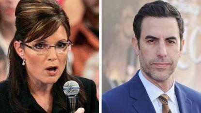 'Borat' slaat terug naar Sarah Palin na heisa nepinterview