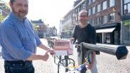 Banners en twee kilometer paaslinten als promo voor 'hamsteren in Mechelen'