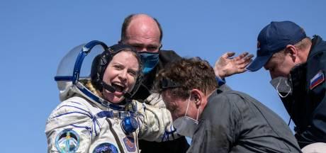 Drie ISS-astronauten landen na 185 dagen in de ruimte weer op aarde