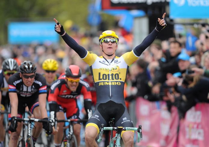 Moreno Hofland wint in Yorkshire.