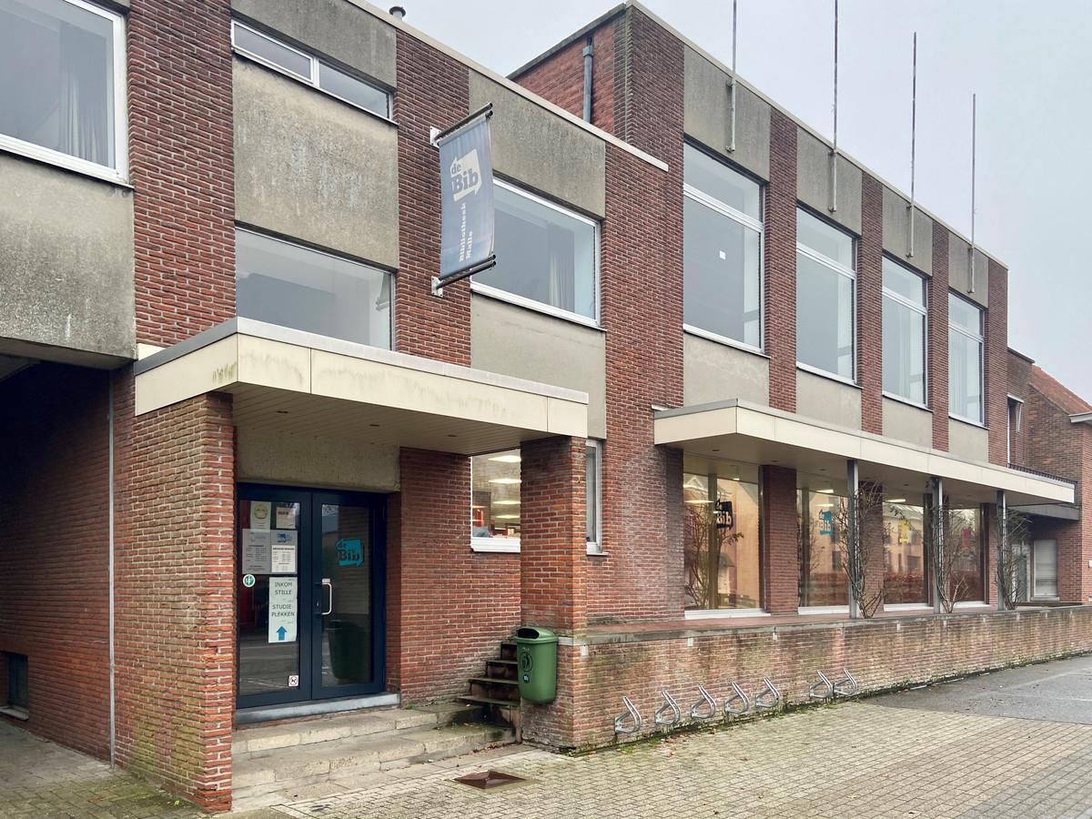 Illustratie - bibliotheek in Westmalle