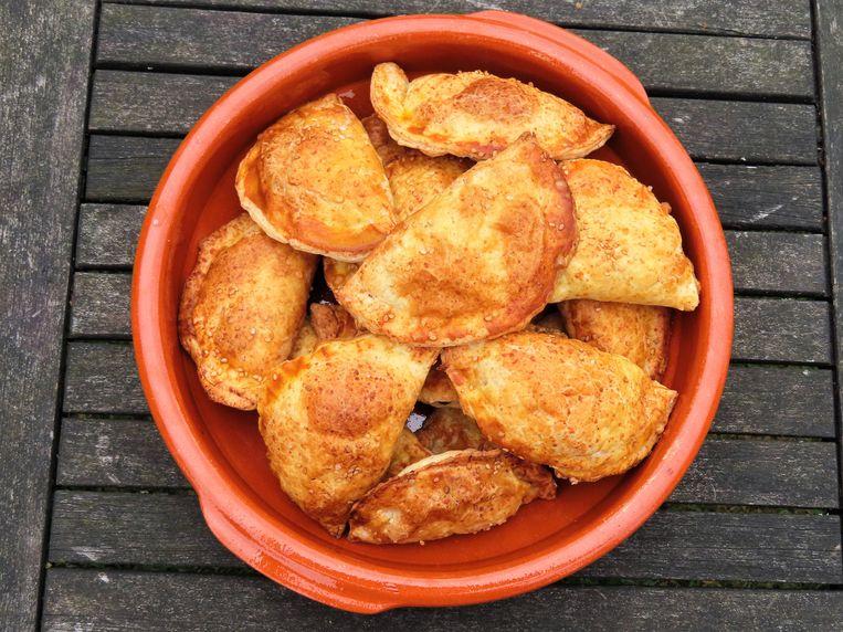 Empanadillas met tonijn Beeld Loethe Olthuis